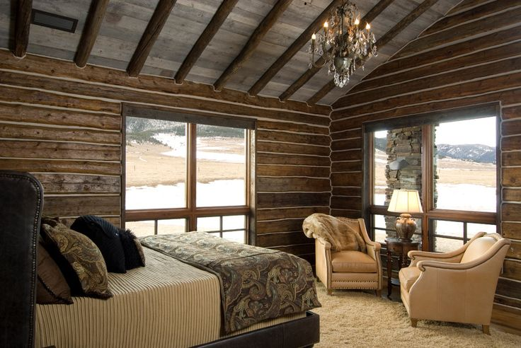 log-cabin-bedroom-Bedroom-Traditional-with-log-cabin-bedroom-log ...