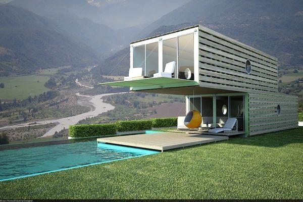 concept design  #architecture #pool #container