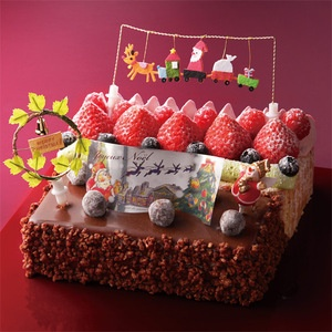 Another charming Japanese Christmas cake!