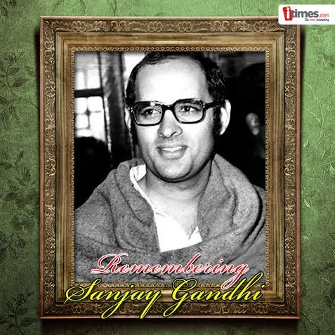 Sanjay Gandhi was the most controversial politician from the Gandhi clan. His death is still is mystery. Let's spare a moment to remember him on his birth anniversary.