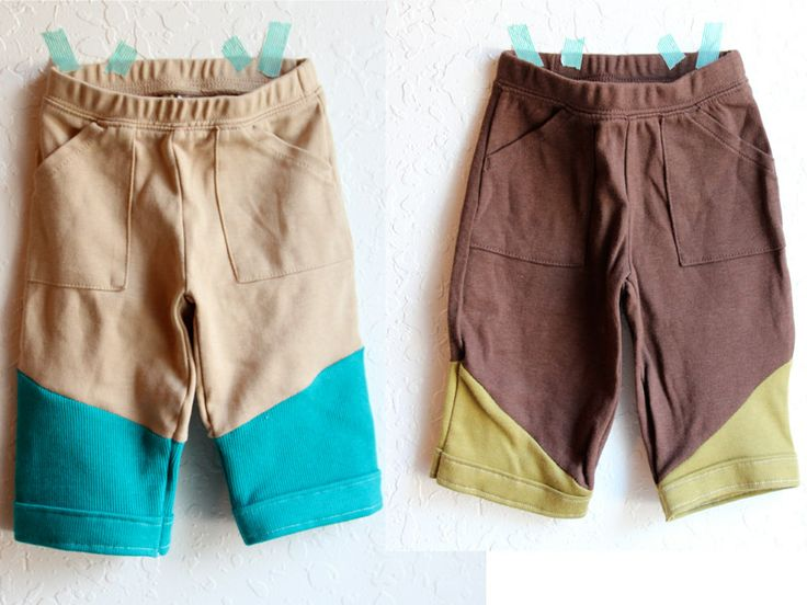 blue eyed freckle: Reconstructed Boy Pants: DIY