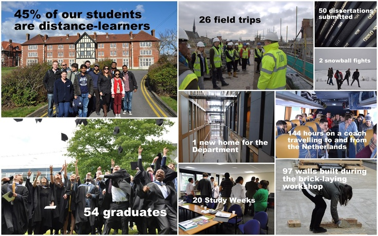 Not Just Hard Hats @ Brookes. Our MSc Project Management in the Built Environment celebrates its first 5 years!