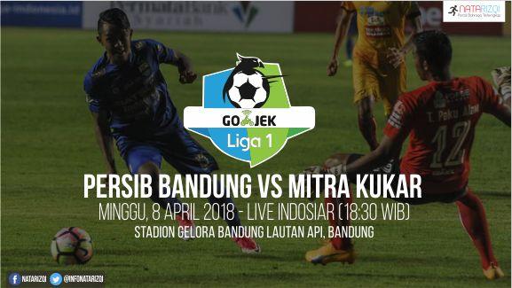 Nonton Live Streaming Persib Bandung vs Mitra Kukar 8 April 2018