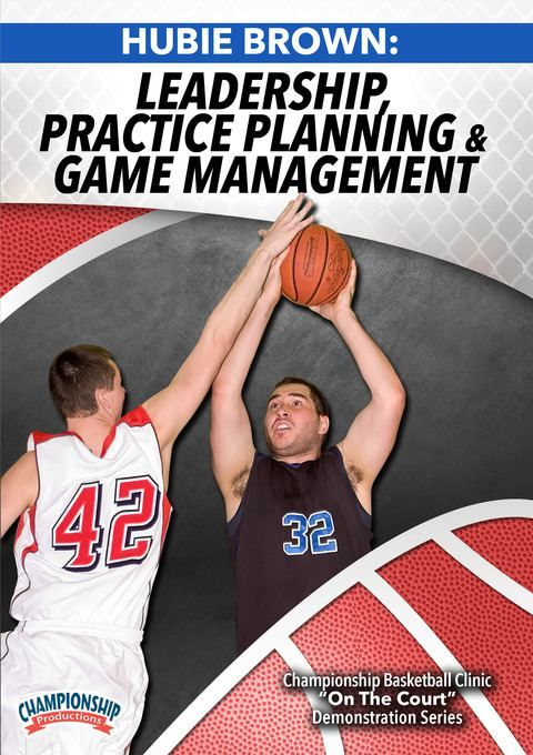 Hubie Brown: Leadership, Practice Planning and Game Management - Coach's Clipboard #Basketball DVD Store