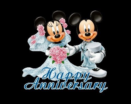 Happy Anniversary Mickey & Minnie Mouse! | It's all about ...