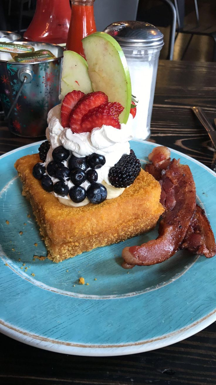 [I Ate] Captain Crunch French Toast and Bacon