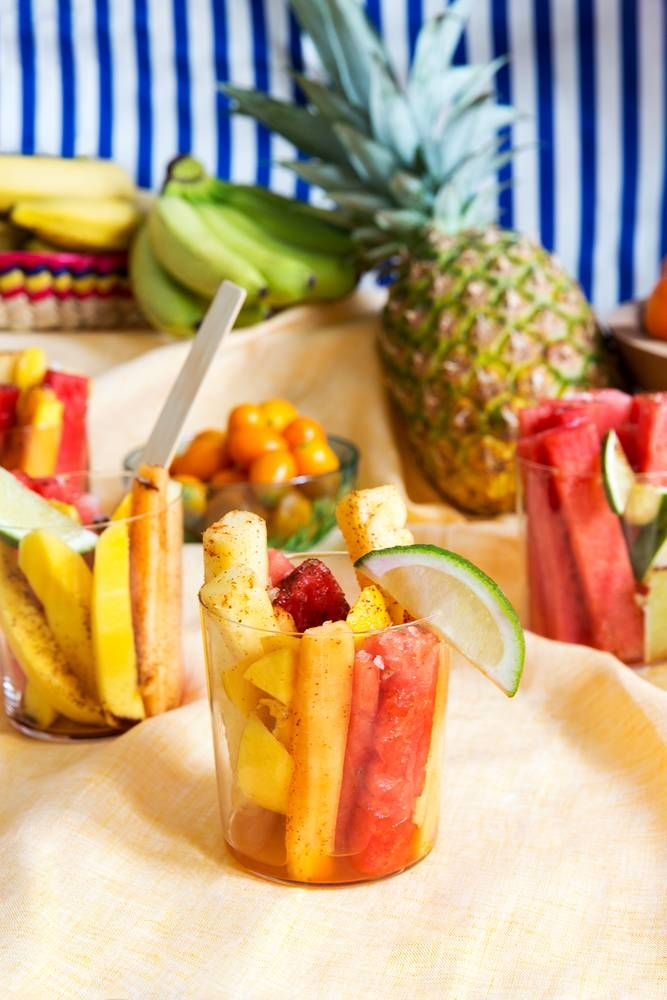 Tropical Chili Mexican Fruit Cups