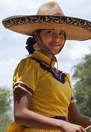 Charra (cowgirl) Mexico