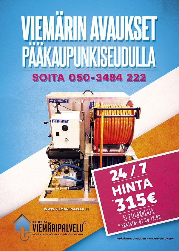Viemärin avaus| Viemärihuolto Helsinki, Espoo & Vantaa