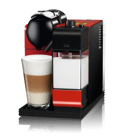 ネスプレッソコーヒーメーカー ラティシマプラス F411RE(レッド) :: ネスレ製品ラインナップ