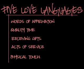 5 love languages test for singles pdf