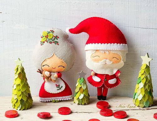 Ya falta menos para Navidad. Así que hoy os traigo la familia Noel al completo. Como podéis comprobar son unos tipos simpáticos que disf...