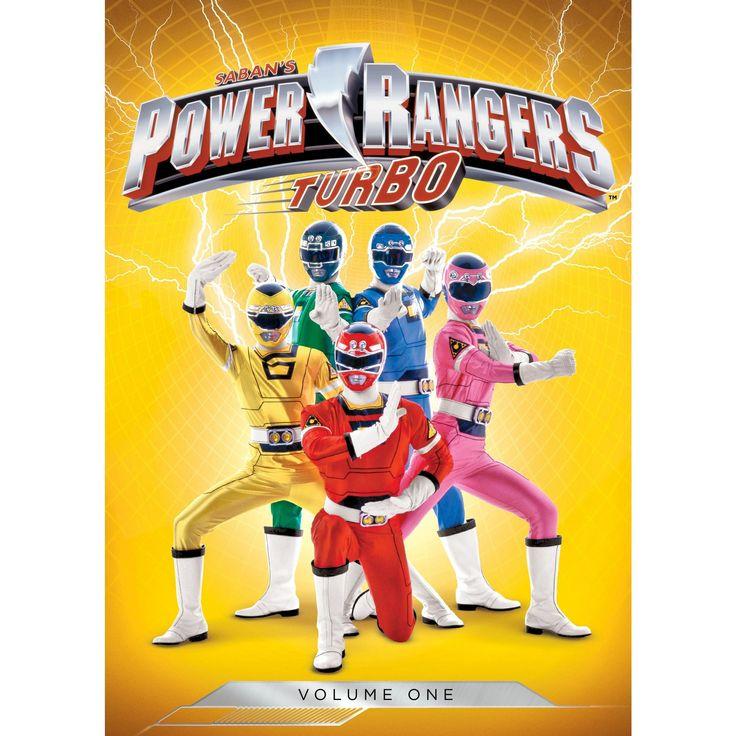 Power rangers turbo vol 1 (Dvd)