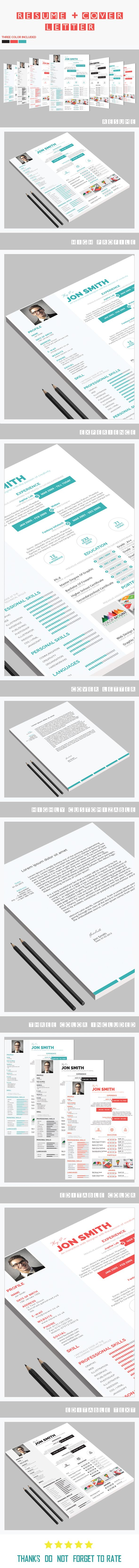 a great total package with a creative resume cover letter design for