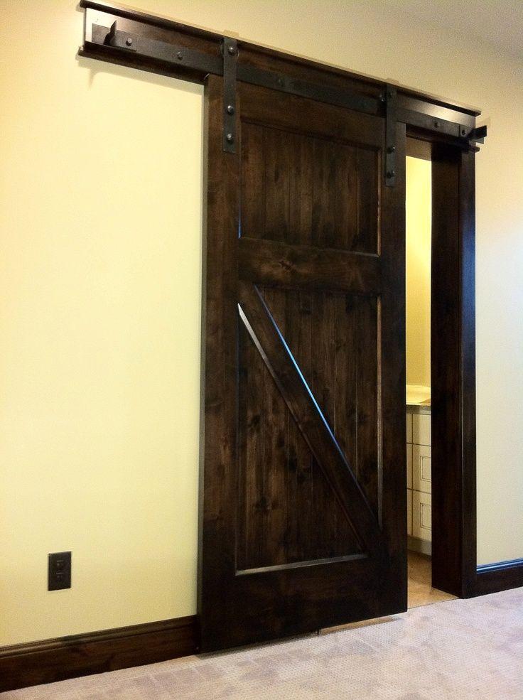 96 best barn door images on pinterest - How to make an interior sliding barn door ...