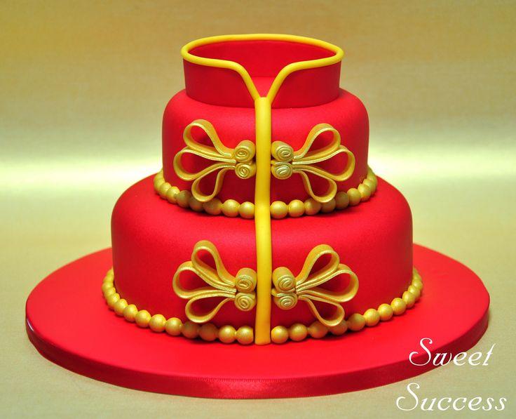 Cheongsam Cake 2
