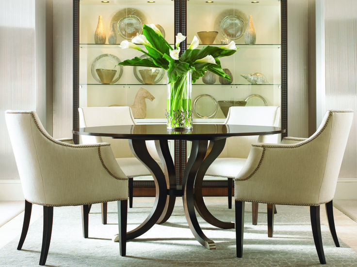 Tribeca Round Dining Table In Milwaukee