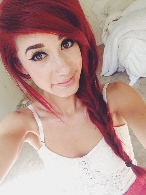 Admirable 1000 Ideas About Red Scene Hair On Pinterest Scene Hair Scene Short Hairstyles Gunalazisus