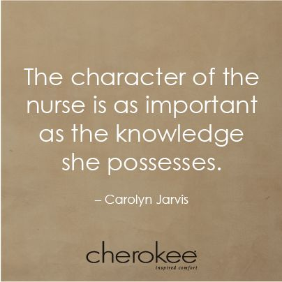 #nurse #character #knowledge