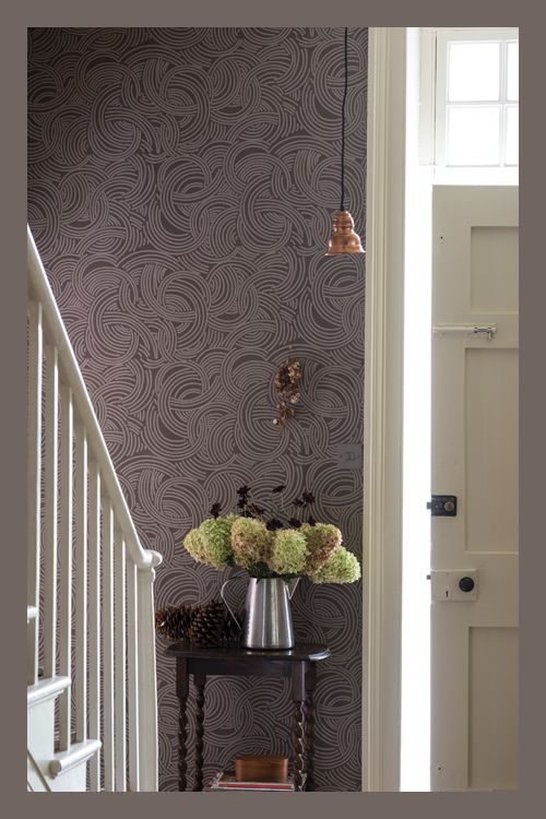 7 best wallpaper farrow ball tourbillon images on pinterest paint farrow ball and wall papers. Black Bedroom Furniture Sets. Home Design Ideas
