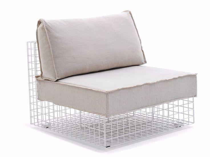 GRID Armchair by Varaschin design Kensaku Oshiro