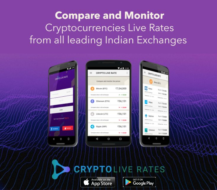 Crypto Live Rates Compare and Monitor all cryptocurrencies