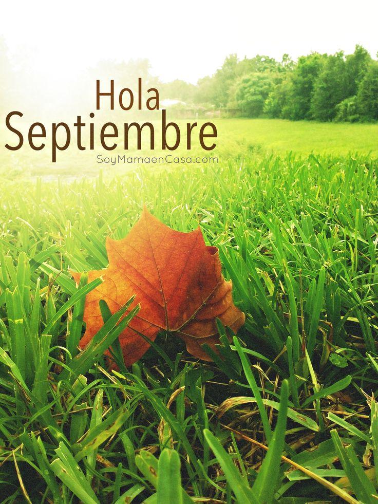 Hola #Septiembre http://soymamaencasa.com