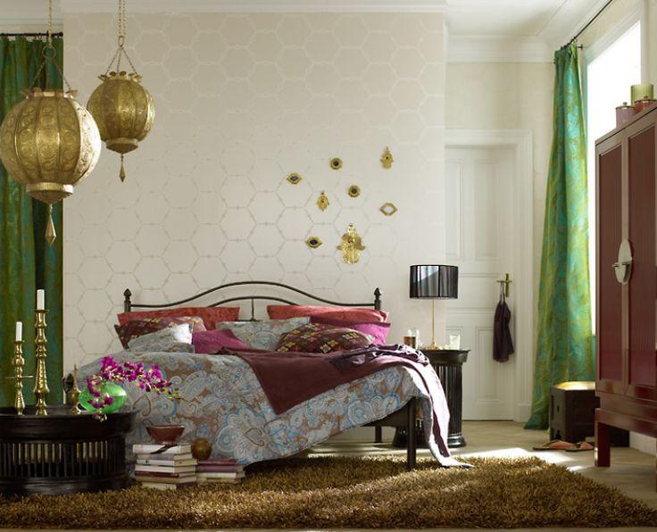 Good Oriental Bedroom.