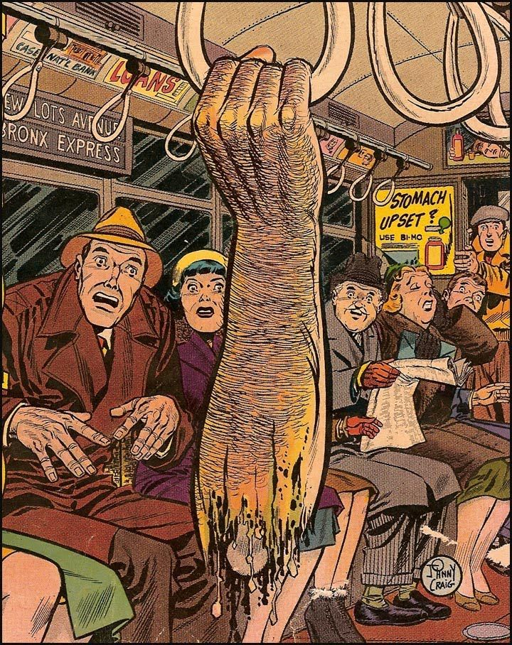 Thanks to Will for reminding me of this classic from the Vault of Horror (Ec comic book)