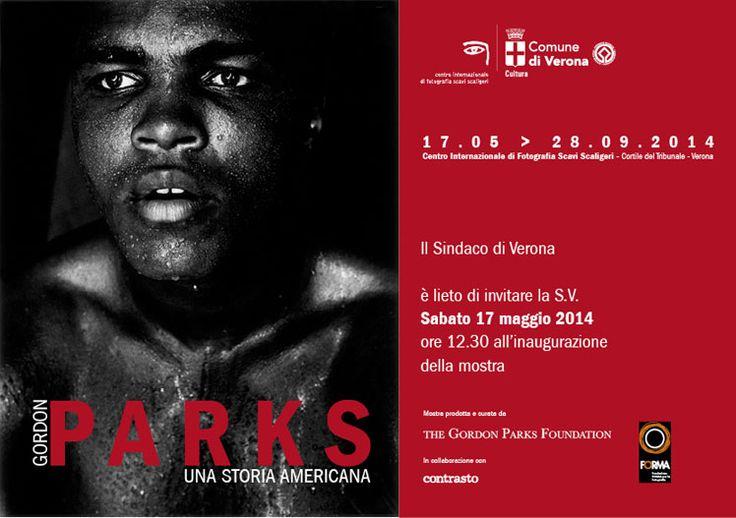 GORDON PARKS. UNA STORIA AMERICANA Centro Internazionale di Fotografia Scavi Scaligeri, Verona 18 maggio – 28 settembre 2014