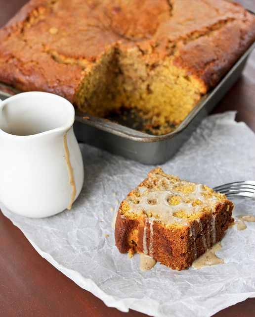 pumpkin latte coffee cake