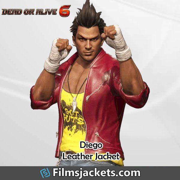 Diego Dead Or Alive 6 Leather Jacket Leather Jacket Jackets Epic Wear
