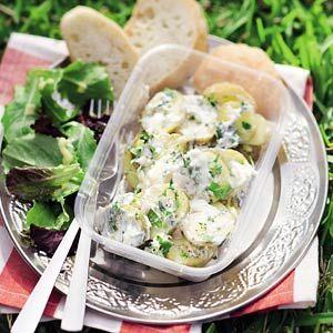 Recept - Kruidige aardappelsalade - Allerhande