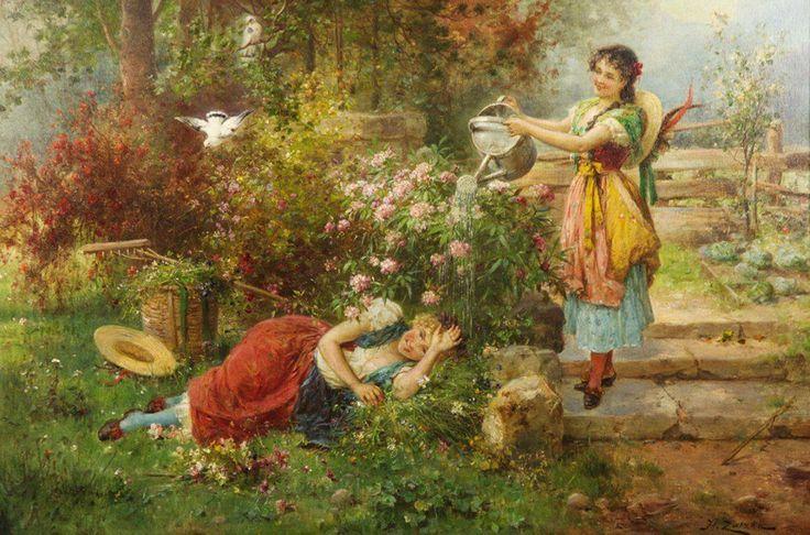 121 best Ханс Затцка images on Pinterest | Kunst gemälde, Engel und ...