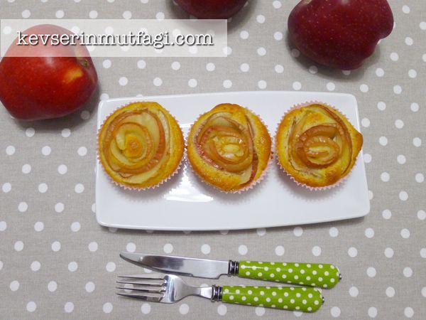 Elmalı Tarçınlı Muffin Tarifi