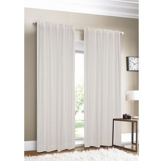 @Overstock.com - Luxury Linen White Lined Curtain Panel - This luxurious linen curtain panel will add stunning and simple elegance to any room. It comes in rich, beautiful colors like blue, green, and white, and the 100 percent linen fabric is sumptuous to the touch and flows elegantly to the floor.  http://www.overstock.com/Home-Garden/Luxury-Linen-White-Lined-Curtain-Panel/3457386/product.html?CID=214117 $69.99