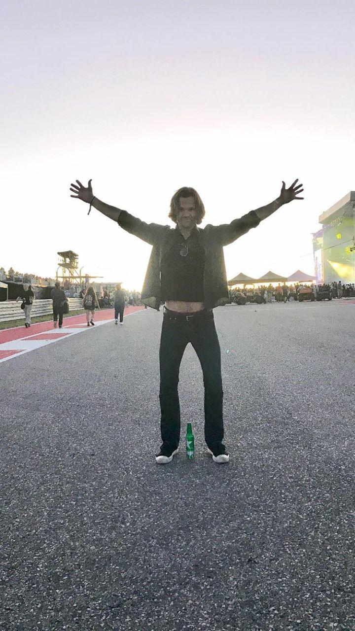 Jared at F1 & Stevie Wonder concert  10/17