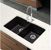 Blanco Diamond Equal Double Bowl Kitchen Sink - Anthracite
