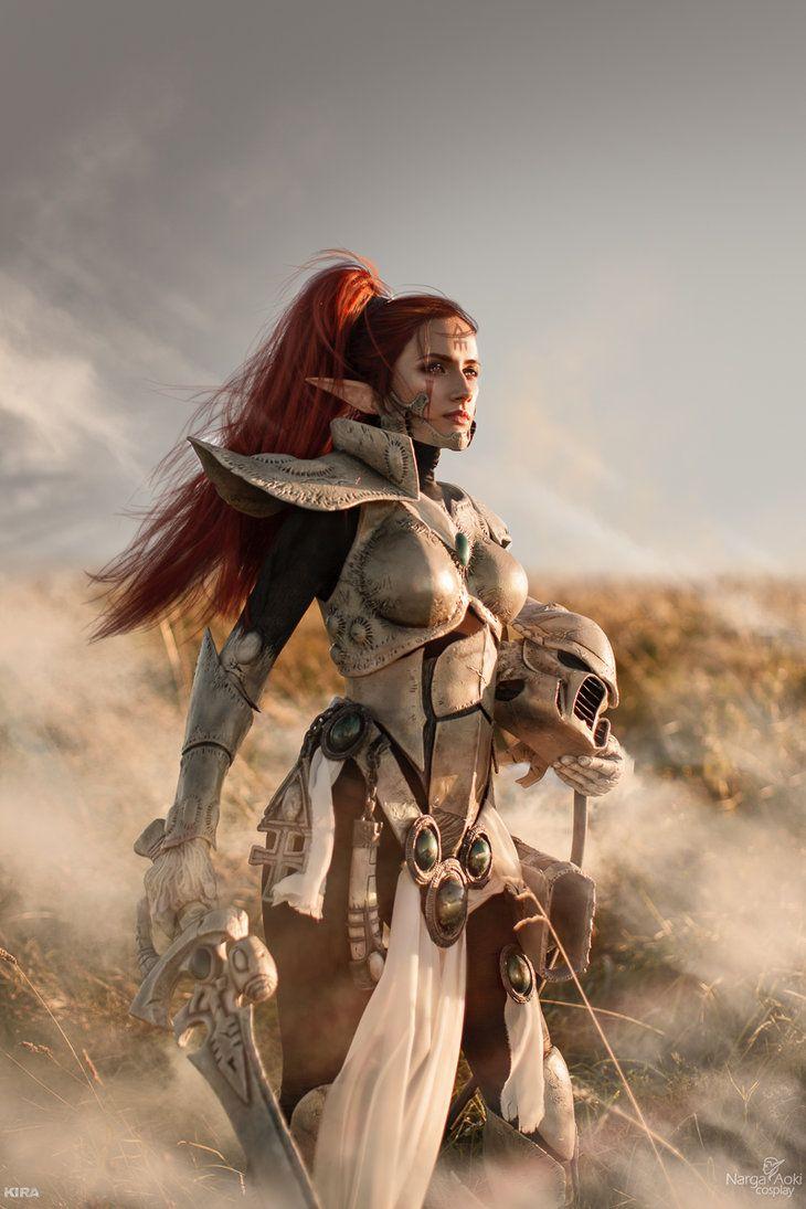 "cosplayfanatics: ""Howling Banshee - To battle by Narga-Lifestream """