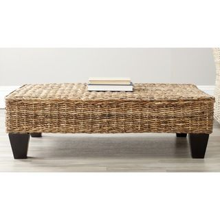@Overstock.com - Safavieh Leary Natural Wicker Bench - This appealing wicker bench offers an inviting place to enjoy a cup of coffee or curl up with a good book. The textured top pairs well with the durable mango wood legs. Use this delicate seat to give a laid-back attitude to any indoor room. http://www.overstock.com/Home-Garden/Safavieh-Leary-Natural-Wicker-Bench/7388292/product.html?CID=214117 $119.69