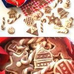 Two-Colored CHRISTMAS COOKIES