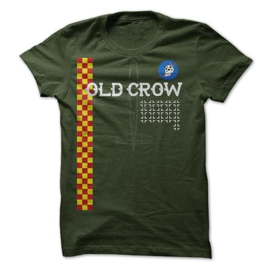 OLD CROW T Shirts, Hoodies, Sweatshirts. CHECK PRICE ==► https://www.sunfrog.com/LifeStyle/OLD-CROW.html?41382