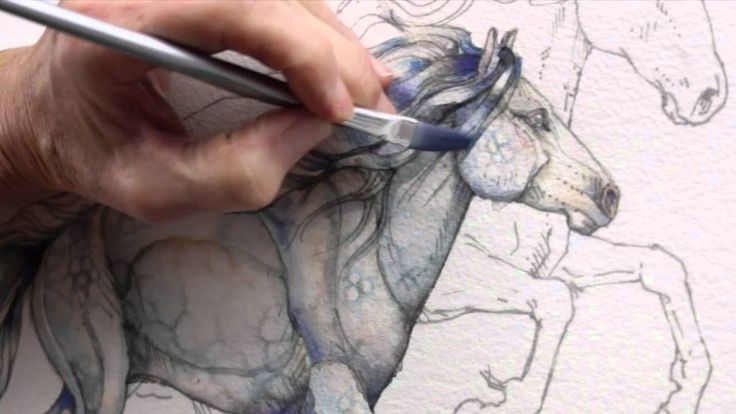 terrific tutorial by bergsma on painting a horse