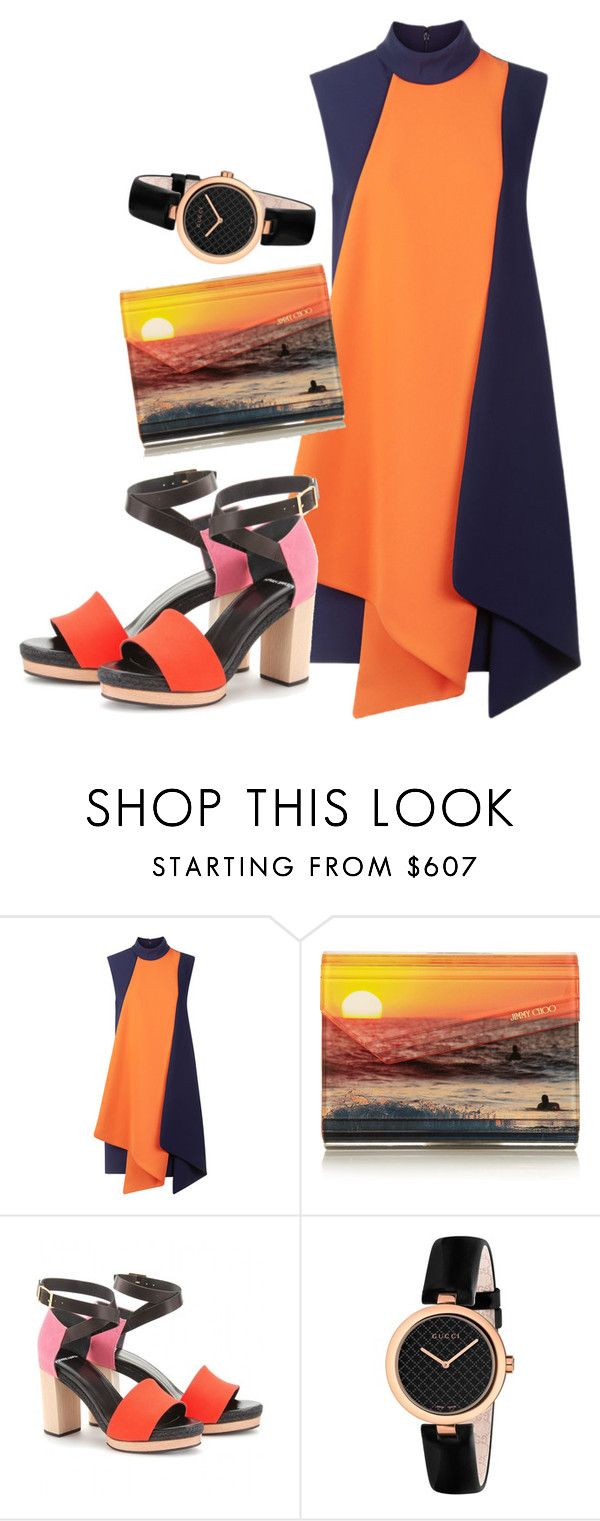 """""""Untitled #294"""" by racita on Polyvore featuring Victoria, Victoria Beckham, Jimmy Choo, Pierre Hardy and Gucci"""