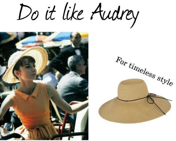 #Audrey always loved completing her #outfits with a classic #hat!  Find your own in #achilleas_accessories e-shop: http://www.achilleasaccessories.gr/products.php?id=16&cat_id=403