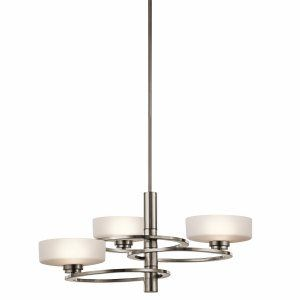 CanadaLightingExperts | Aleeka - Three Light Large Chandelier
