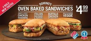 Domino's Pizza Copycat Recipes: Dominos Oven Baked Sandwiches
