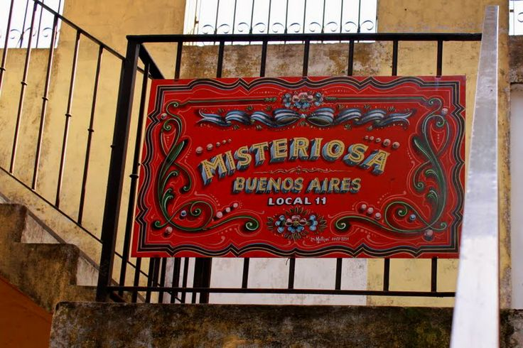 mundo aparte que sos!: Misteriosa Buenos Aires..