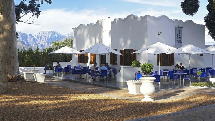 Allée Bleue Estate, Franschhoek, South Africa