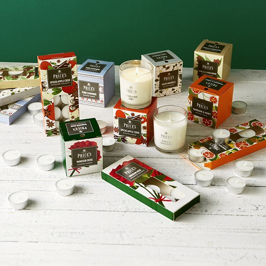 Price's Candles 6 Jar Candles & 60 Tea-lights Fragrance Collection order online at QVCUK.com